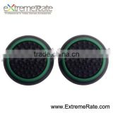 Latest Black Base With Green Grip Thumb Stick Covers for Xbox 360 Controller thumbstick caps