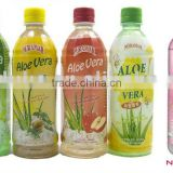 PET Aloe Vera drinks with pulp OEM