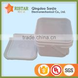 8 liters plastic pails transparent 100% virgin pp material plastic square bucket with cheap price