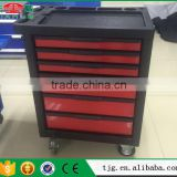 New Design Professional Tool Box With Tools Rolling Tool Chest Cabinet Type With 220pcs 6 Drawers