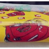 "100%cotton 20*10 40*42 58""various lovely paint printing double-brushed flannel fabric for baby"