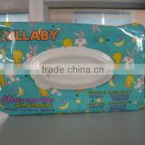 OEM baby wipes with lid