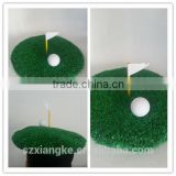 Novelty Golf Hat w/ Putting Green Flag and Golf Ball One Size Adult