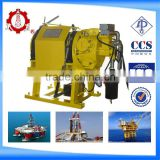 JQH30*26 series 3T remote control air winch for sale offshore platform marine oilfied mining