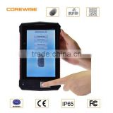 Portable biometrics fingerprint reader that is rugged for time and attendance system