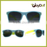 Neon Logo Branded Promotional Sunglasses /colored neon promotional plastic sunglasses