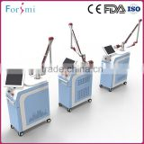 American Imported Ceramic Cavity Long Pulse Nd Yag Laser Telangiectasis Treatment Hair Removal Machine With The Integrated Laser Rod Freckles Removal