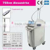 Q-Switched Ruby or Alexandrite 1064&755nm for tattoo removal and pigment removal skin rejuvenation vessel red blood problem