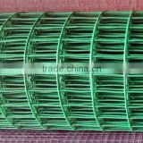 PVC coated 1/4 inch welded wire mesh roll price / welded wire mesh made by best welded wire mesh machine