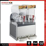 Commercial 2 Tank Frozen Drink Slush Slushy Making Machine Smoothie Maker XRJ-15L*2