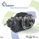 HELICAL BEVEL GEAR REDUCER KNS MODEL right angle spiral bevel gearbox agricultural plastic gears
