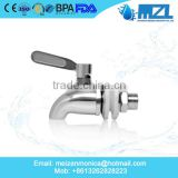 12mm/16mm 304 Stainless Steel Stainless Steel No Lead Beverage Dispenser Spigot Juice Cold Drink Wine Barrel Faucet