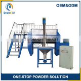 liquid powder mixing equipment industrial food mixing tanks horizontal powder ribbon mixer