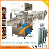 chocolate enrobing enrober machine with cooling tunnel
