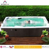 SPA Hydro Massage Pool Large Outdoor SPA Pool Outdoor Endless Strong Jet Wholesale Swimming Pool Spa Hot Tub Swimming Pool