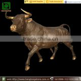 Life Size Brass Cow Statue