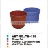 PP flower pot,plastic flower pot, flower pot