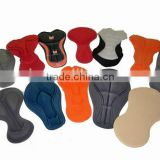 Coolmax fabrics custom design choices professional GEL 3D Chamois Gel cycling pad