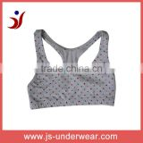 js-270 Women Simple Cotton Camisole with colorful heart printing