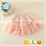 New children skirt casual style bow design beautiful girl skirt dress kid girl mini skirt