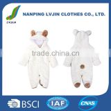 Baby Boy Clothes Baby wear Blank Winter Romper Wholesale