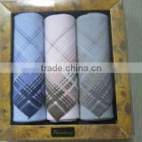 cotton colorful yarn dyed men handkerchief 100 cotton handkerchief manufacturers