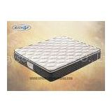 Pillow Top Bonnell Mattress With Knitted Fabric Convoluted Foam Roll Pakage