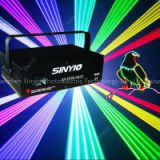 editable SD card ILDA 2W RGB full color Animation laser light for club lighting/stage lighting/dj lighting