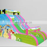 New design Princess theme inflatable dry slide