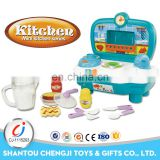 Best gift popular kitchen toys modern fast food play set