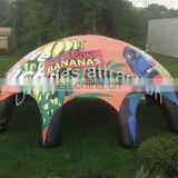 Digital printing surface inflatable party tent for advertisement