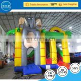 TOP INFLATABLES Professional adult baby bouncer chair bouncy house inflatable water slide