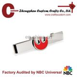 Wholesale fashion high quality polish stainless steel blank make your own tie clip