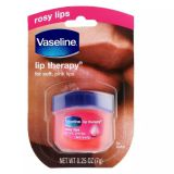 Vaseline's classic repair lip balm rose buds are silky and moisturizing to prevent dry cracking
