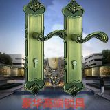Guangdong dart lock ivory handle lock anti-theft door lock door door room door lock zinc alloy mute lock