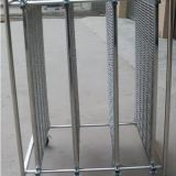 ESD stainless steel pcb trolley cart