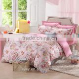 Ievey china supplier 100%cotton 40s 12868 high quality customized size OEM bedding sets wholesale