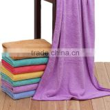 China market of electronic Super absorbent Coralon towel 70*140CM canbe add your logo more colors for choose