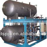 double layer suitable meat production automatic water immersion carbon steel pressure vessel