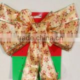 Giant Christmas Red Butterfly Bow Red Christmas Tree Bows/Christmas Tree decoration red bow