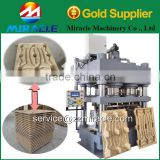 Wood hydraulic press machine from woodworking machinery/related machines wood crusher&drum dryer&glue mixer plant