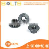Stainless steel spot weld nuts