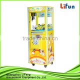 Hot selling toy claw crane machine for shopping mall kids/toy claw crane game machine for sale