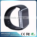 Witmood 2016 Factory Price bluetooth speaker watch gt08 smart watch for ios and android phones