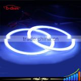 B-deals china supplier 60mm 70mm 80mm 85mm 90mm blue white color led cob angel eyes light for cars