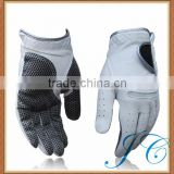 Best design professional cabretta leather golf glove with low price