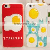 New products Soft Silicone phone case, for iphone 6 case, for iphone 6 plus Drawing lines case