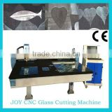 China hot Automatically cnc glass cutting machine glass cutter 2012 for 2mm-25mm thickness high precision