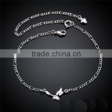 sterling silver anklet bijoux accessory