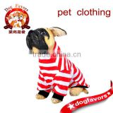 2014 New Style Summer Pet Puppy Cat Small Dog Clothes Apparel Shirt can be customized Size Cotton Stripe Style